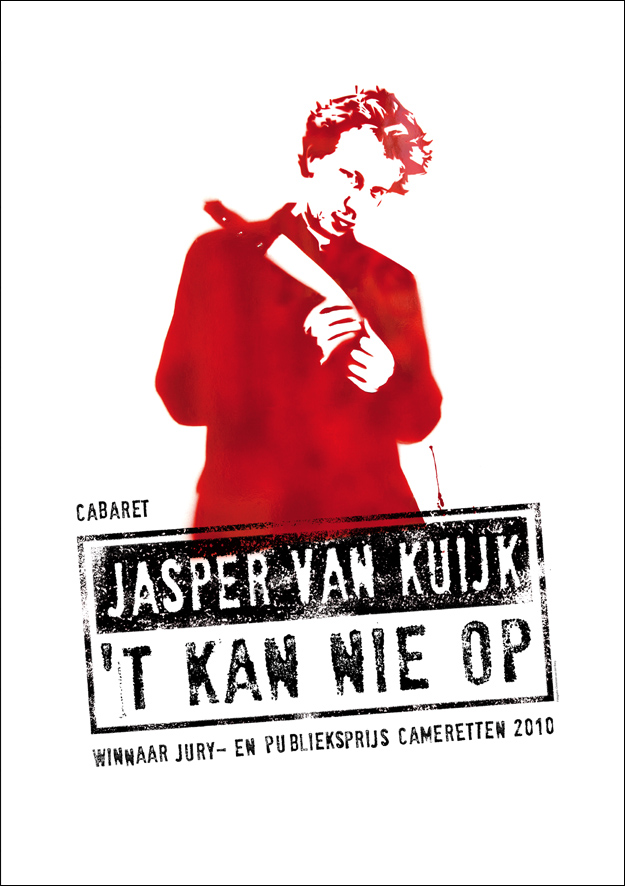 Poster 't Kan Nie Op - Jasper van Kuijk