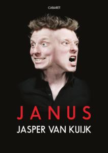 Poster cabaretvoorstelling Janus, door Jasper van Kuijk