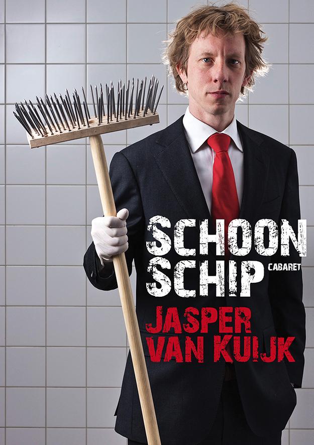 Flyer Jasper van Kuijk Schoon Schip 2012-2014